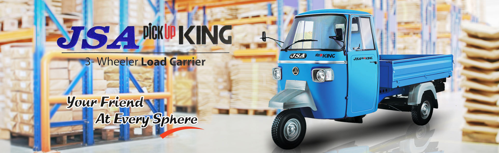 J.S. Auto Pvt. Ltd. - Manufacturer of Three Wheeler Passenger and Loader Vehicles