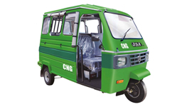 JSA 1360 D-IV CNG Passenger Carrier | Manufacturer of Three Wheeler Passenger Carrier in Kanpur, India | JS Auto Pvt. Ltd.