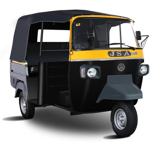 JSA NV Passenger Auto Rickshaw JS Auto Pvt Ltd Manufacturer - Auto